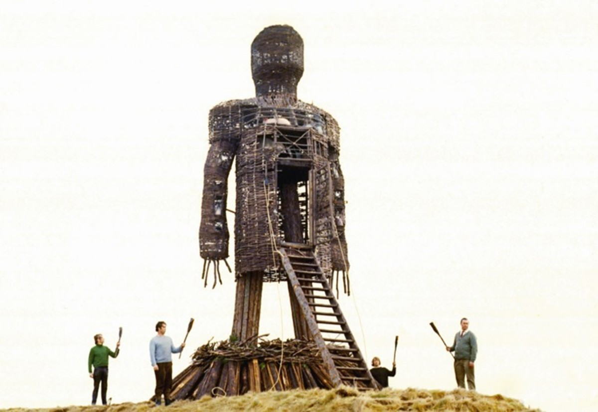 The wicker man in the movie 'The Wicker Man 7'