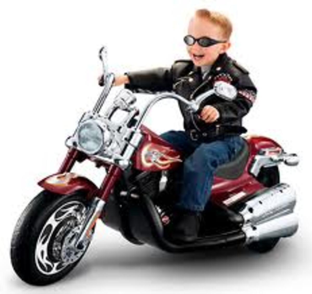 Harley Davidson Power Wheel