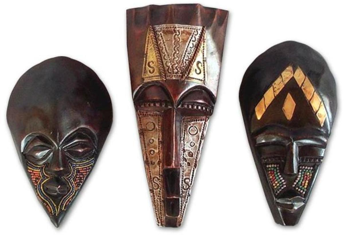 Ancient Ghana Masks