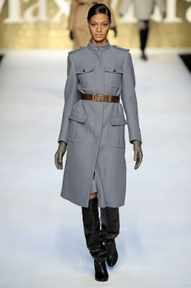 Longer Military Style Coat