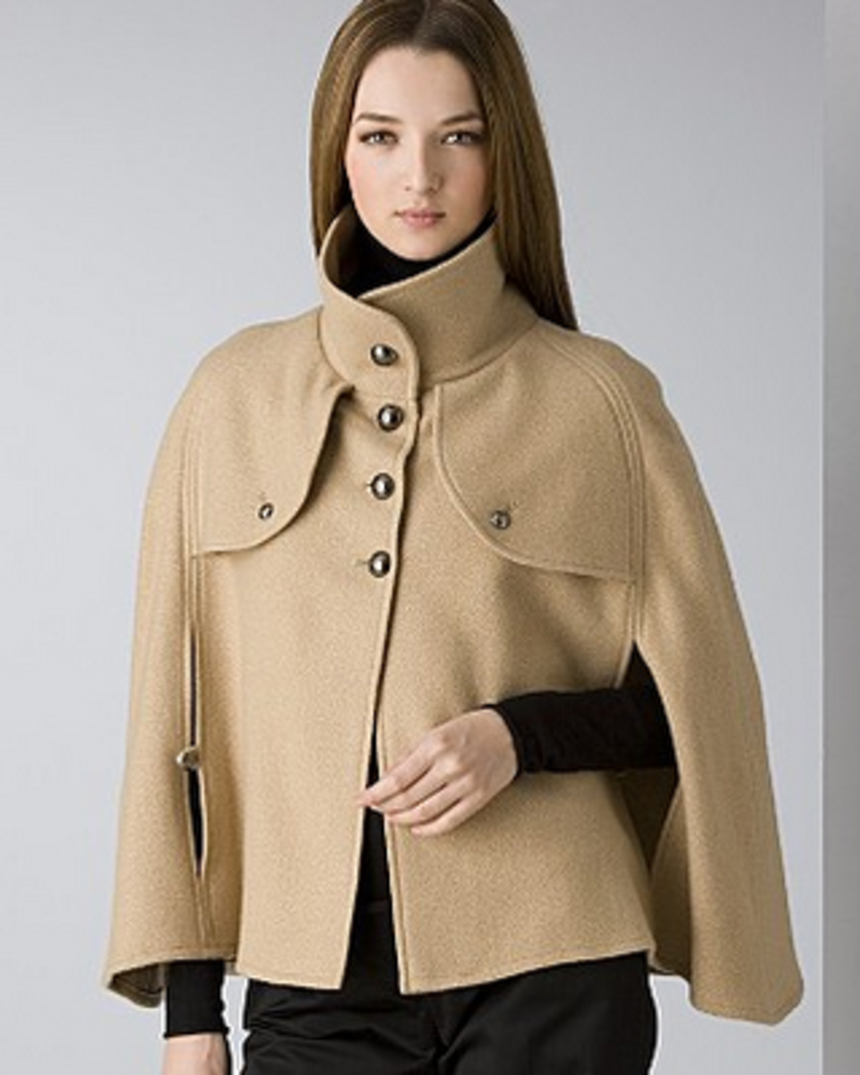 Short Camel Cape