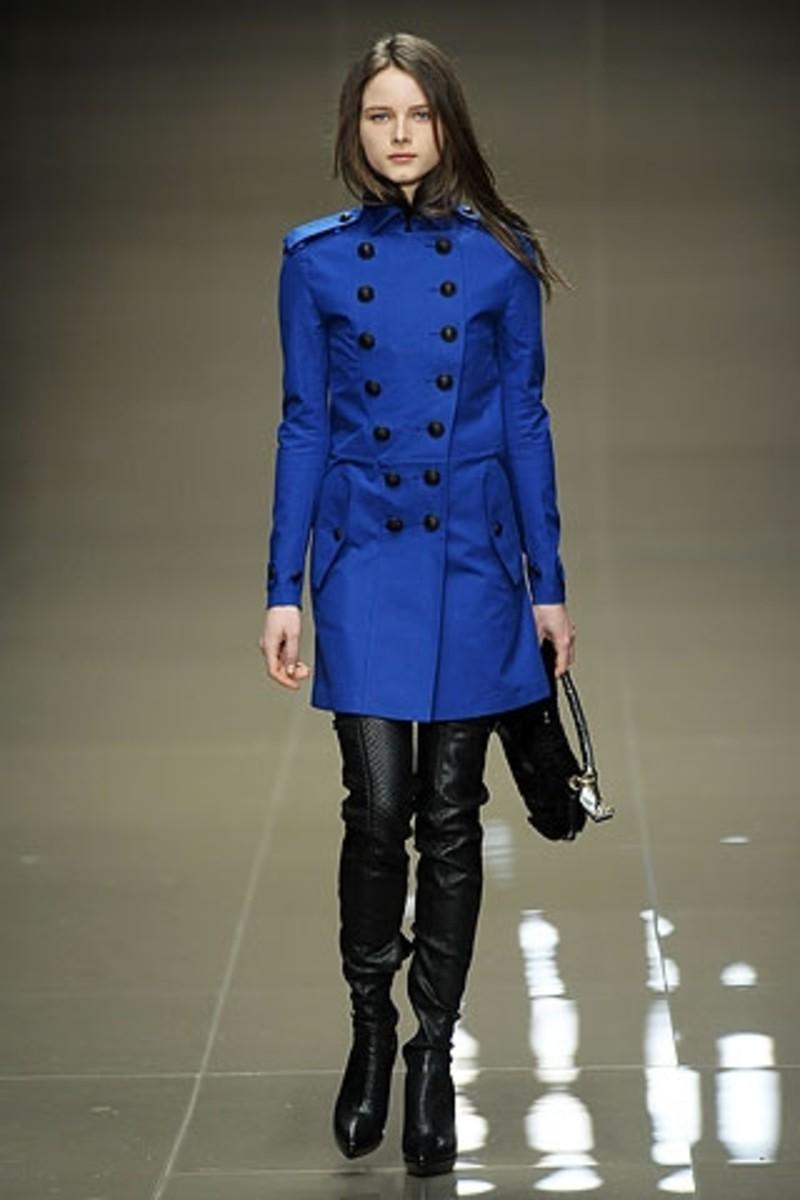 Short Military Style Coat