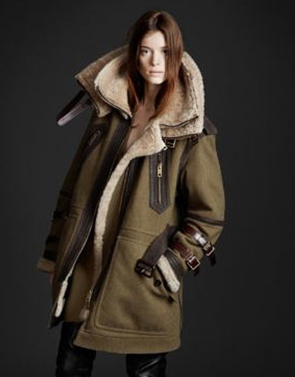 Fabulous Burberry Aviator Jacket - But Not Cheap!