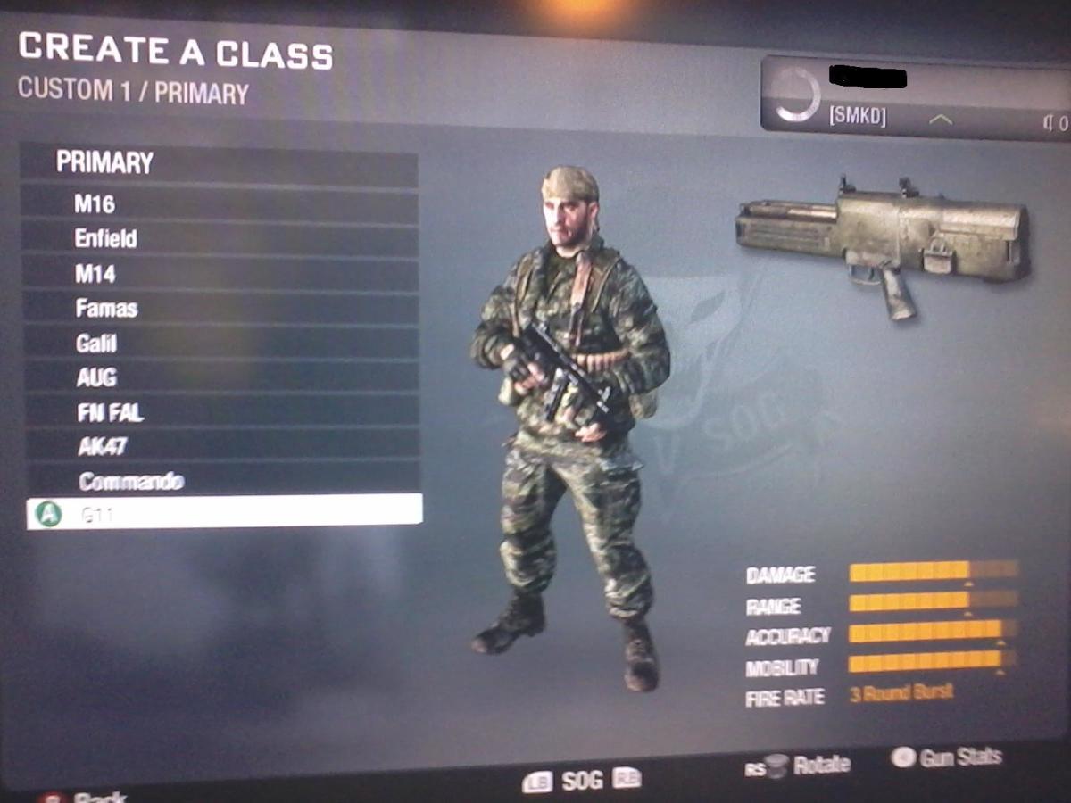 Call of Duty Black Ops Classified Weapons, Gun List  Gun