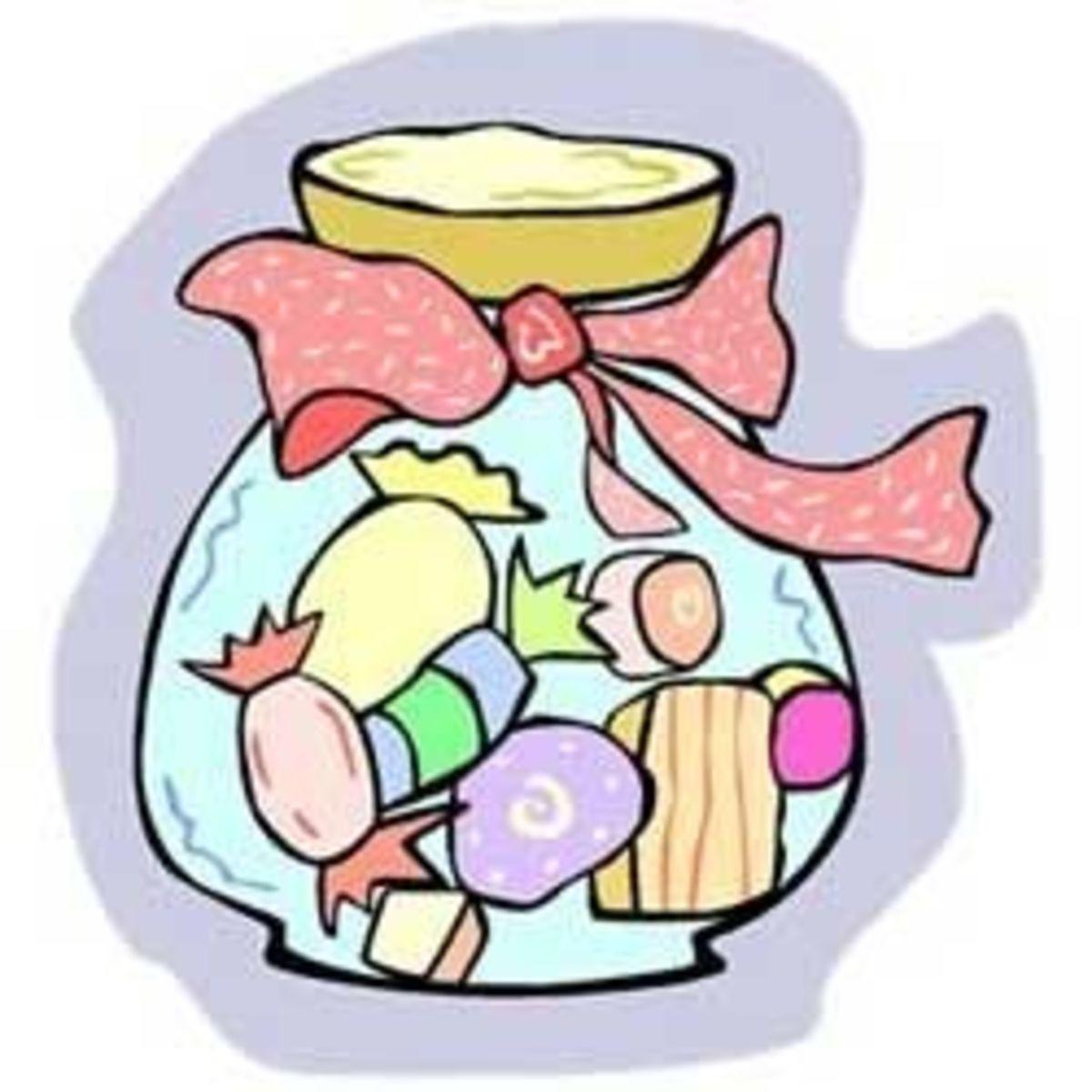 Hard Candy in a Jar