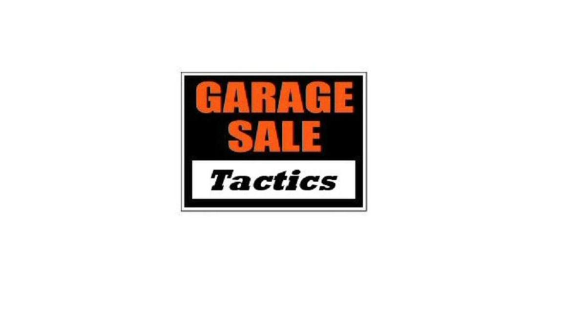 Garage Sale Tactics for eBay Profits!