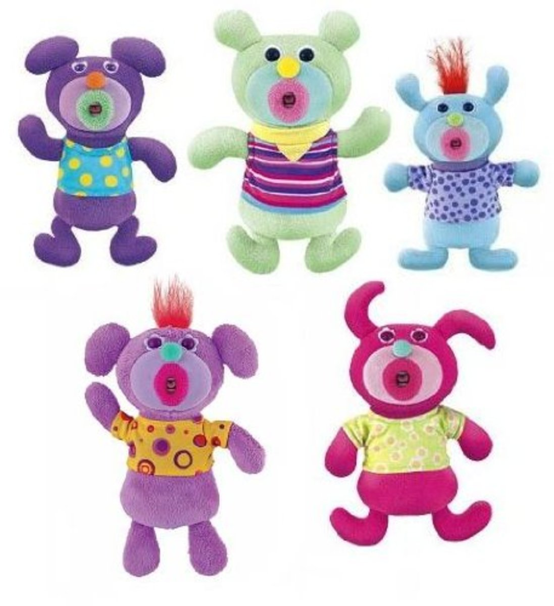 Sing-a-ma-Jigs Bundle of 5