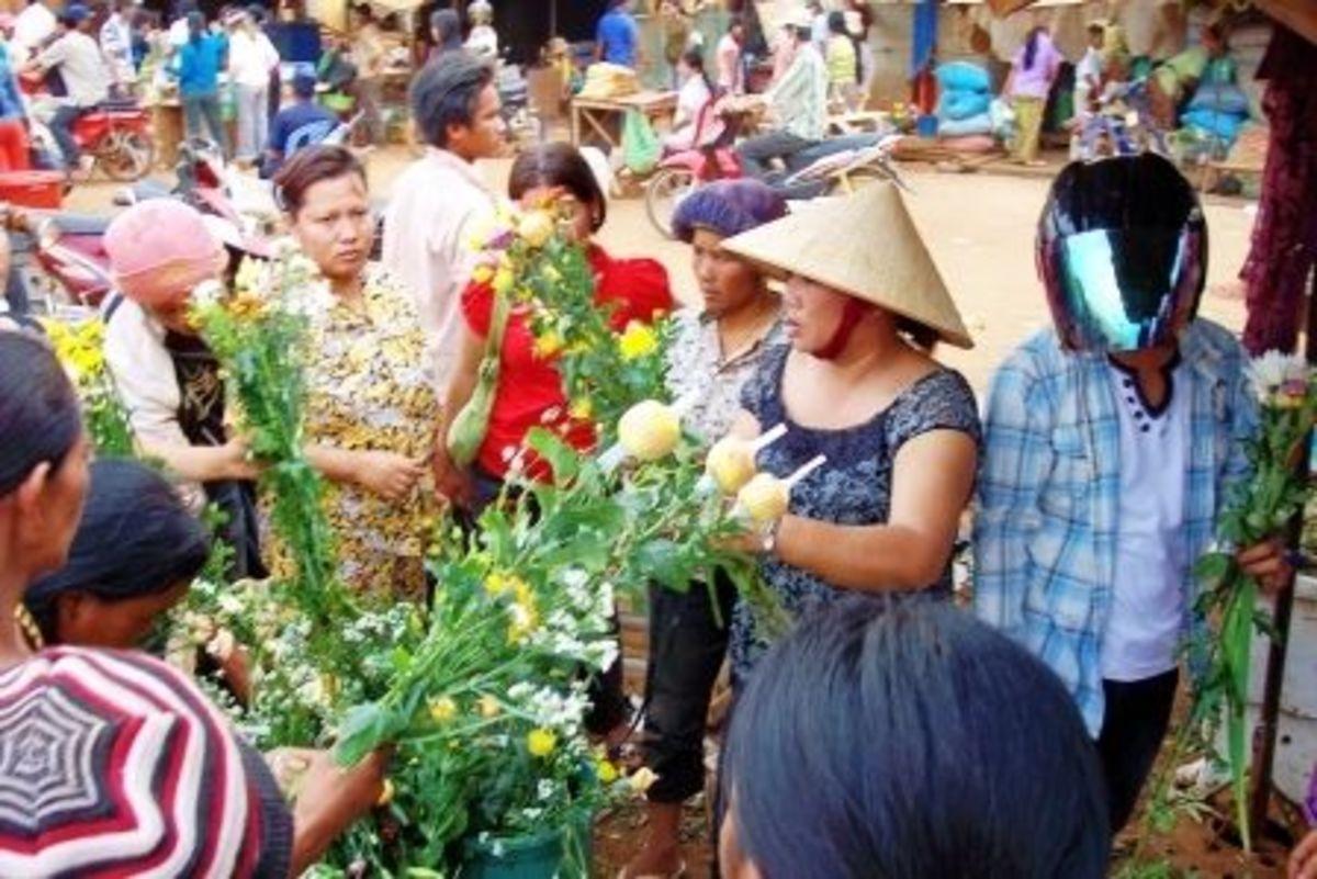 Preparing for Khmer New Year