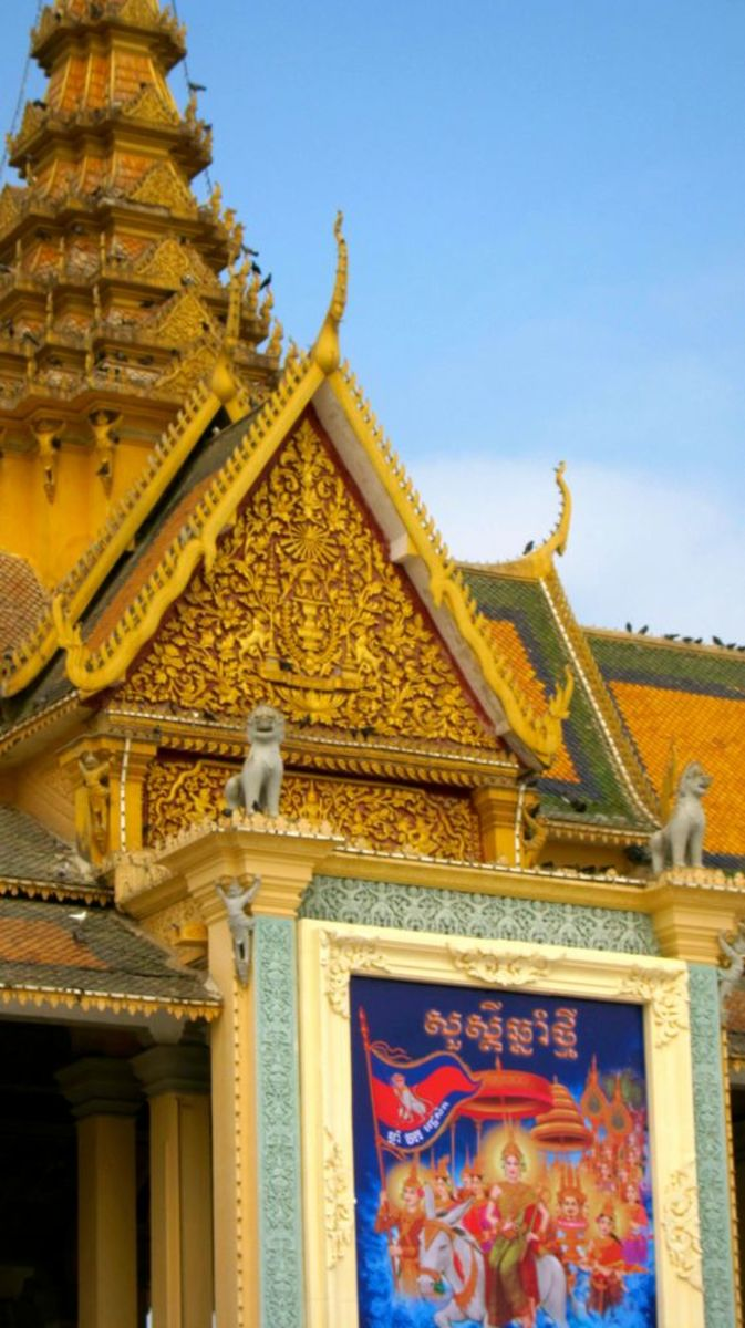 Royal Palace Ready for Khmer New Year 2016