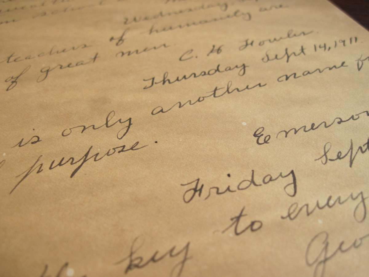 Handwriting Analysis rarely takes into consideration the generational or cultural  differences that change handwriting.