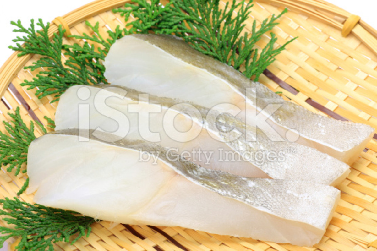 Slices of Cod Fsh