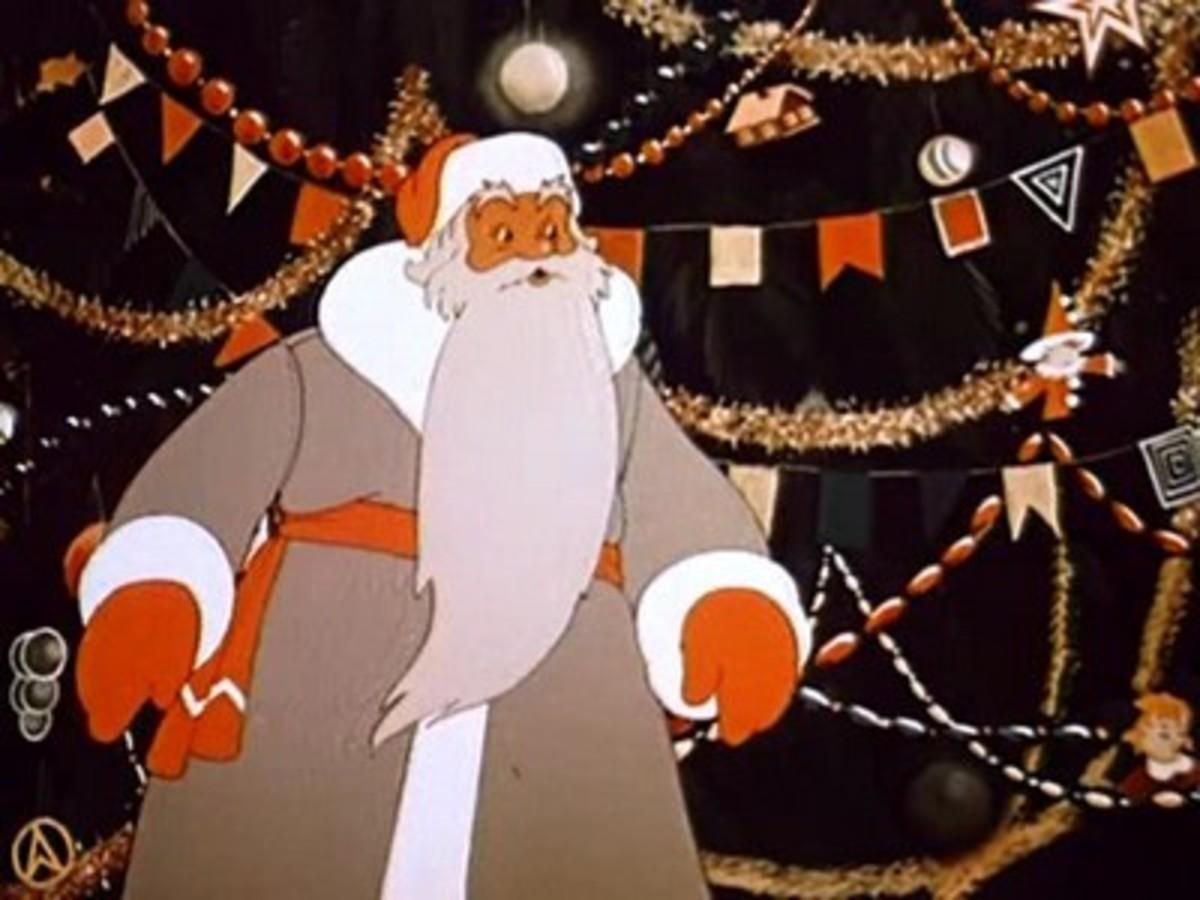 Russian Santa Claus- Grandpa Frost