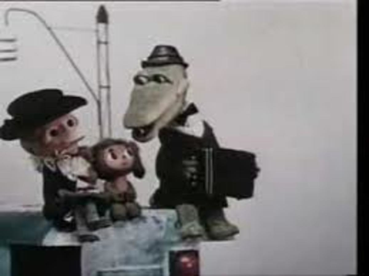 Cheburashka, Crocodile Gena and Shapokliak