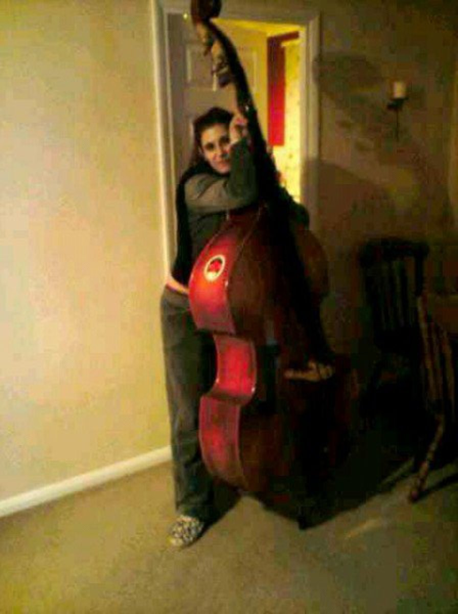Dwarfed by the Double-Bass