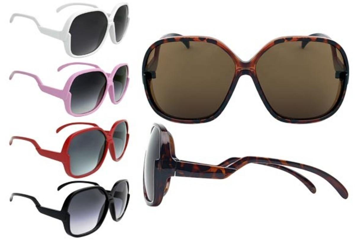 Retro sunglasses for every flavor.