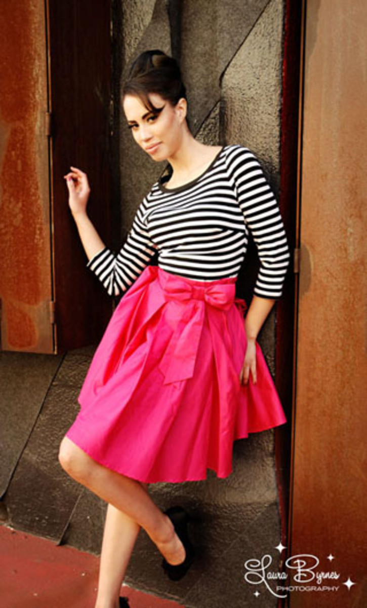 Audrey Skirt in Pink