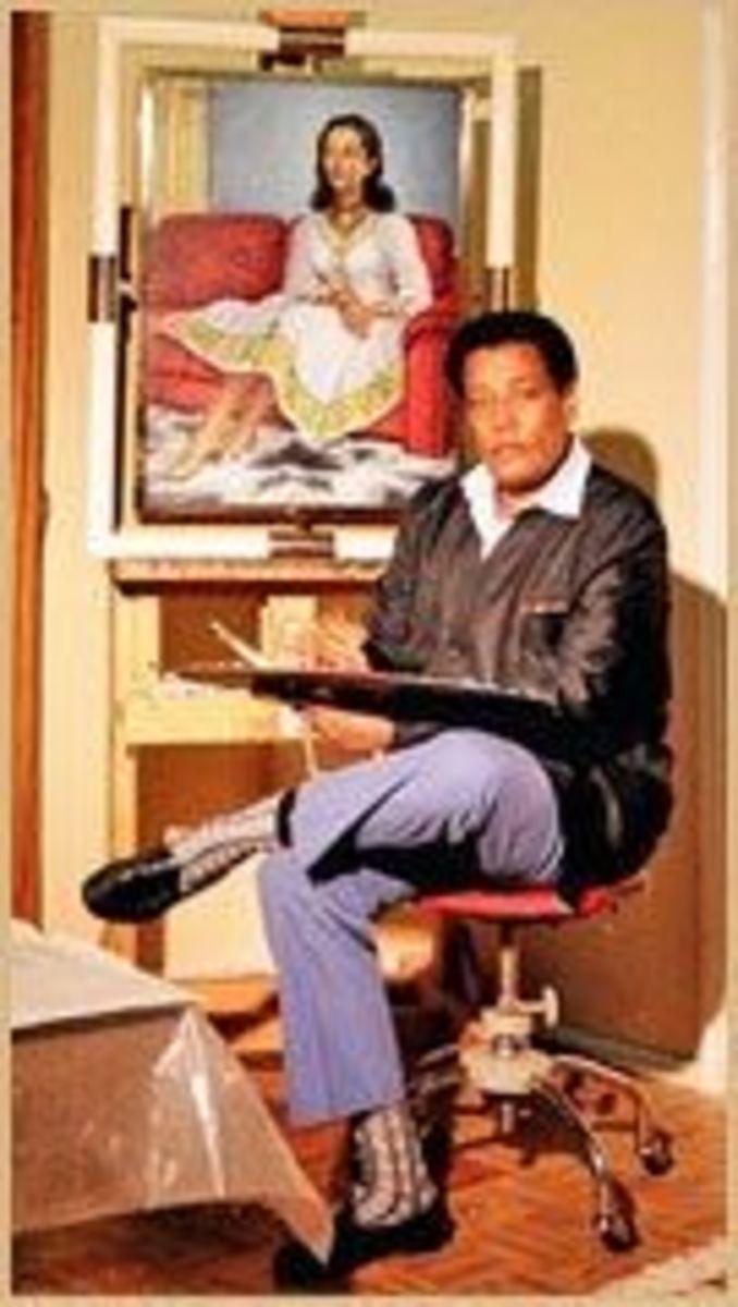 Ethiopian Art - Afewerk Tekle