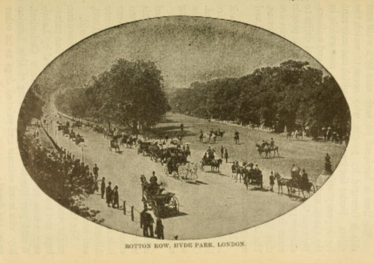 Hyde Park - Where People Came to See and Be Seen