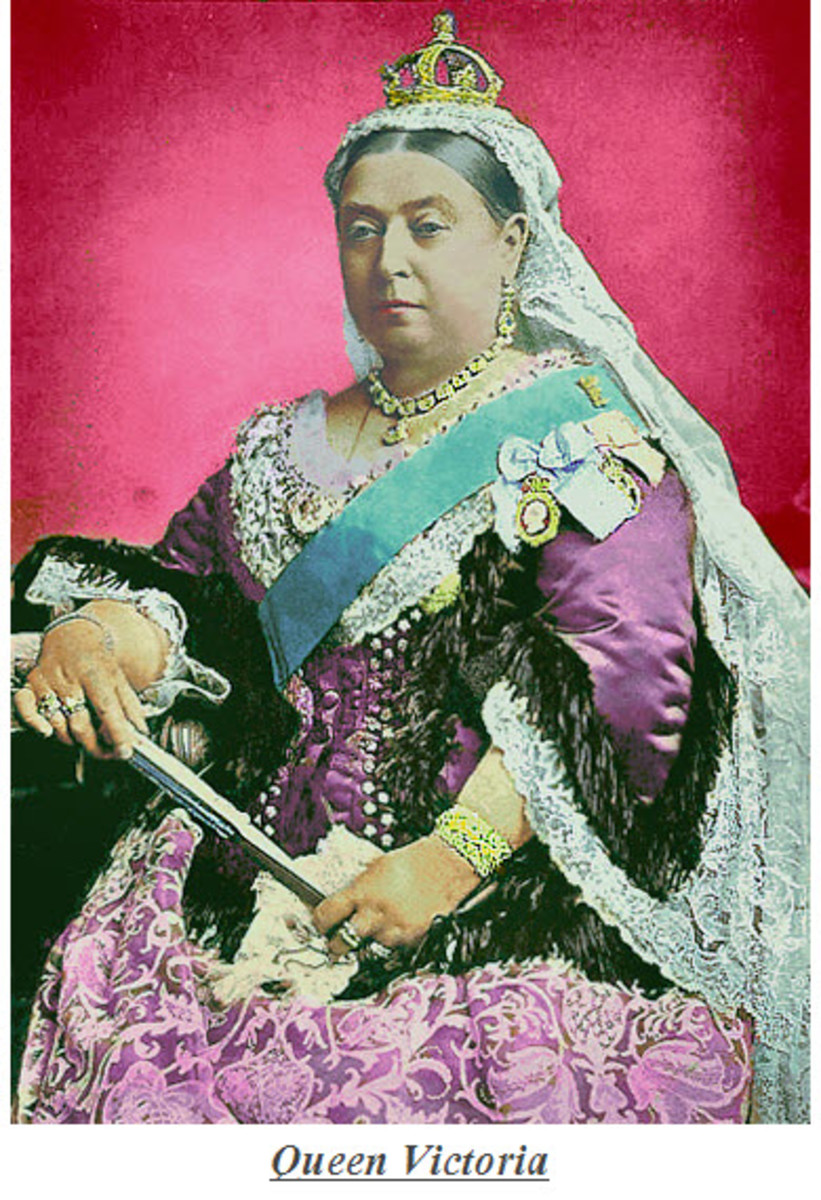 Queen Victoria - Empress of India