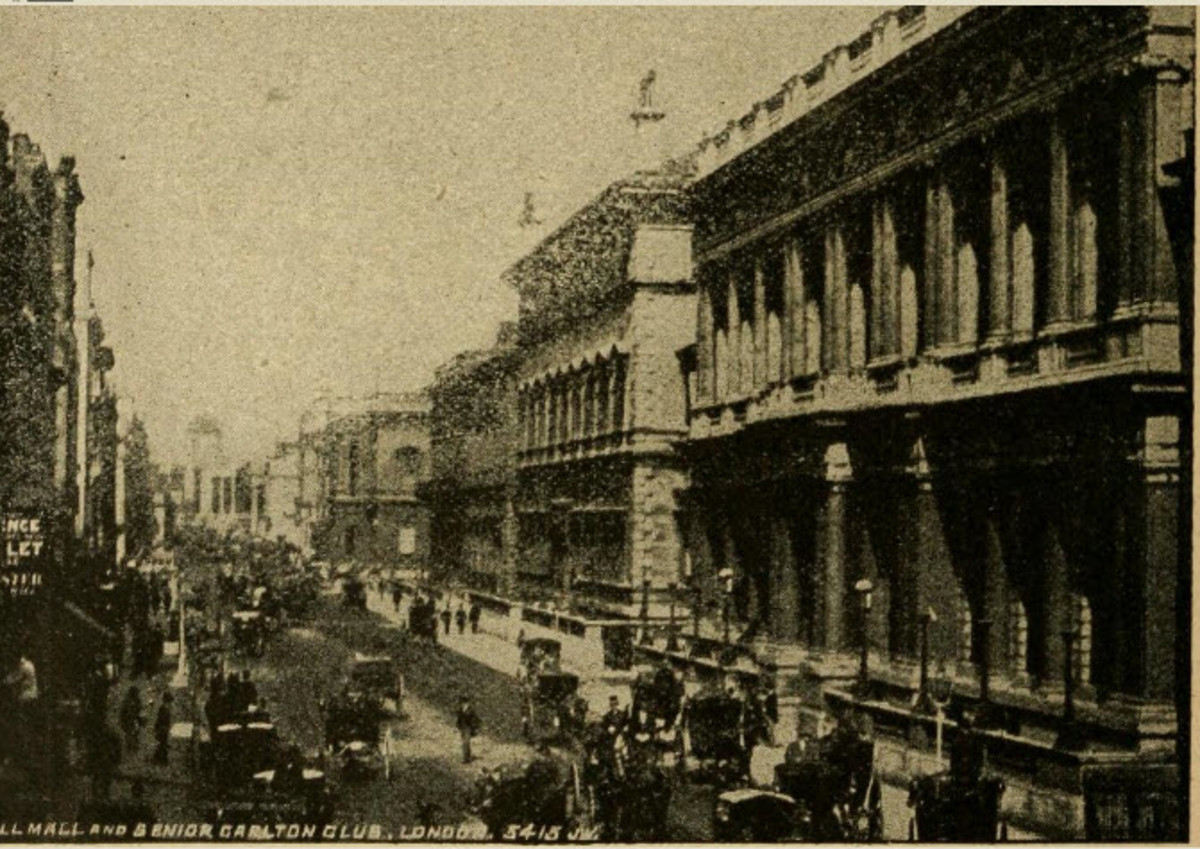 A View of Pall Mall, London