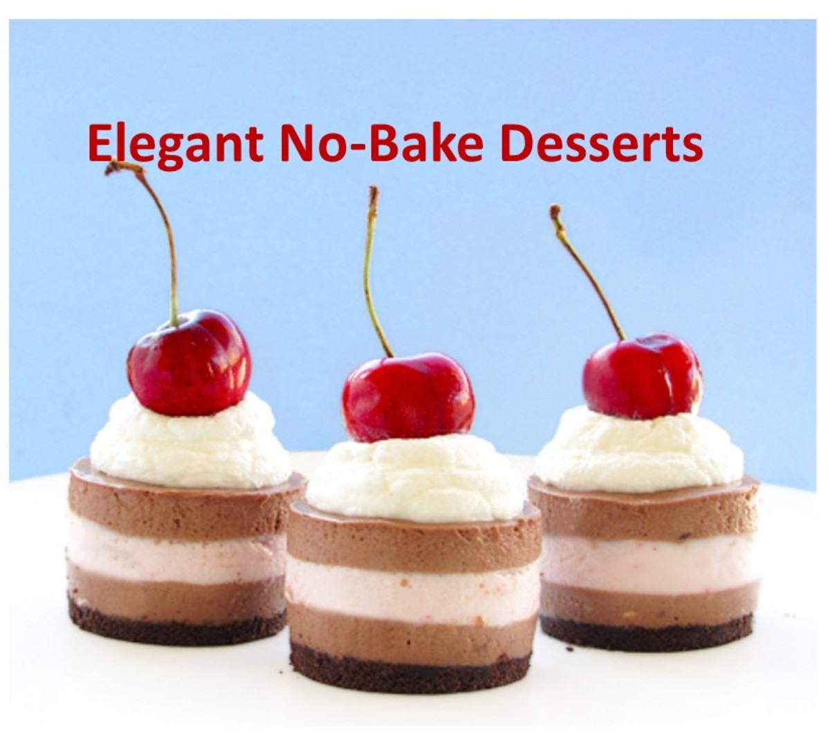 Easy, tasty, elegant no-bake cheesecake
