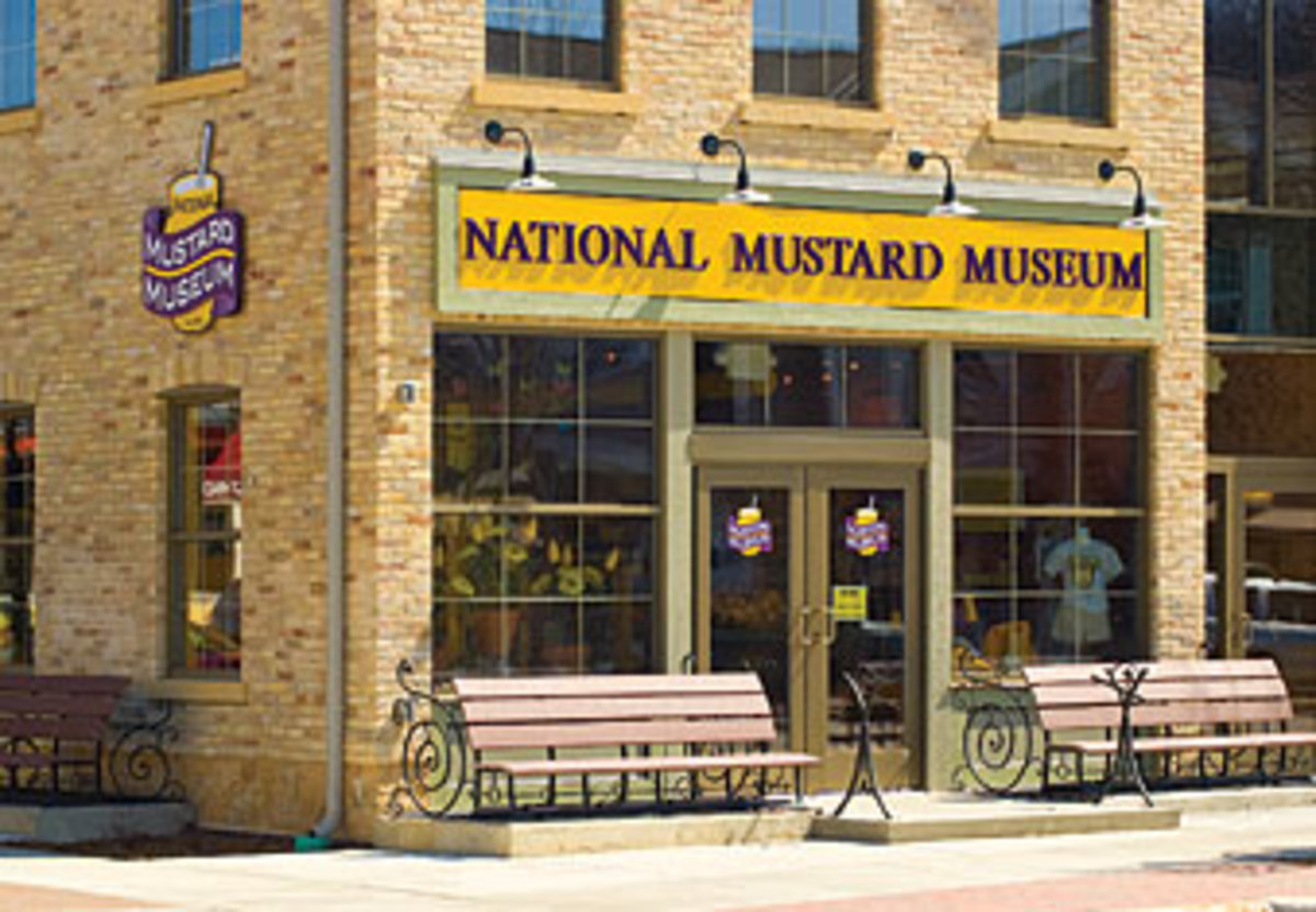 The Burlingame, Wisconsin Mustard Museum