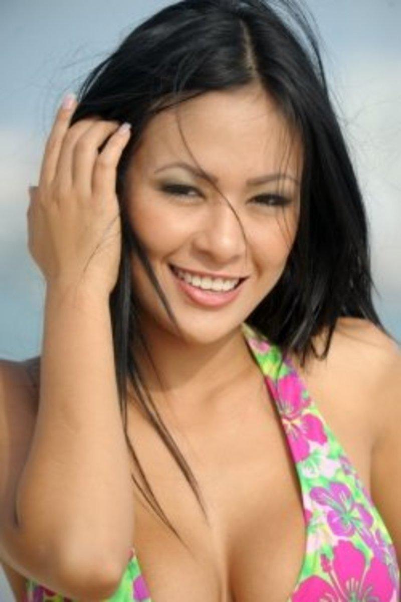 Angie Quesada-Pink Bikini
