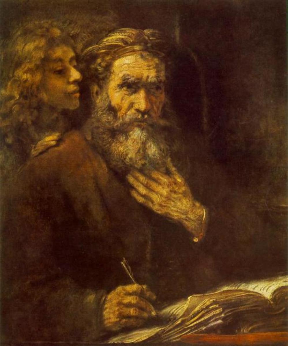 Matthew with angel