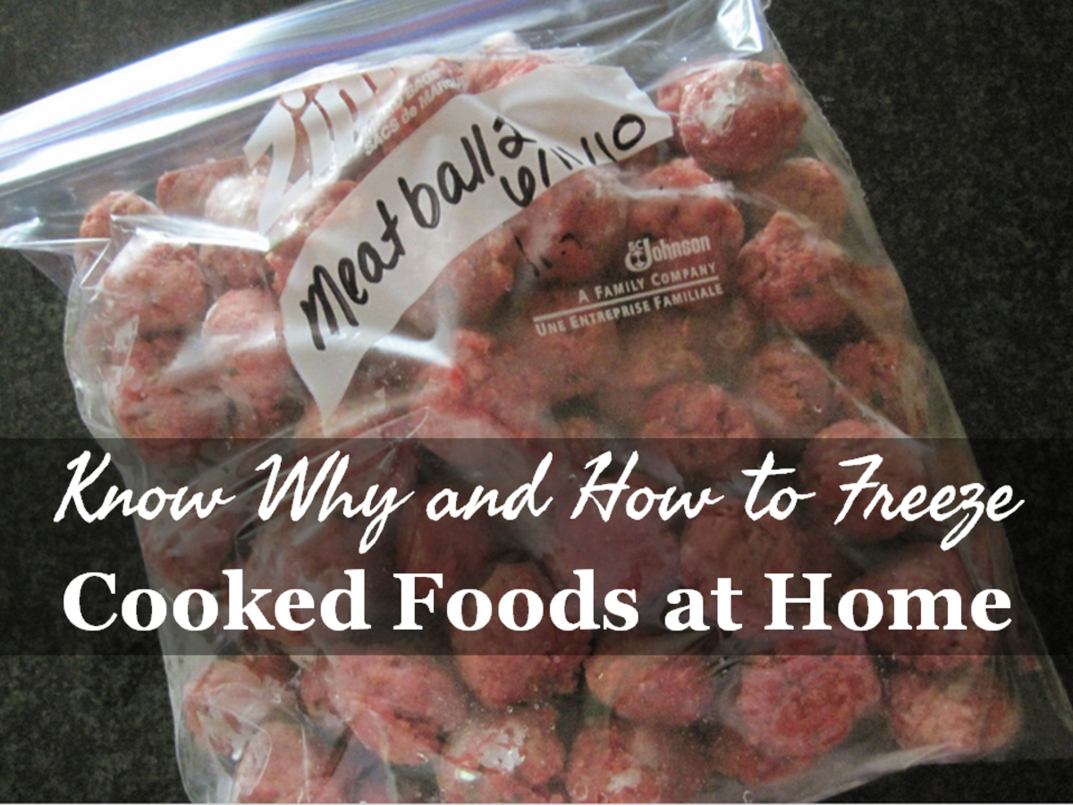 Freezing Cooked Foods at Home - Why and How