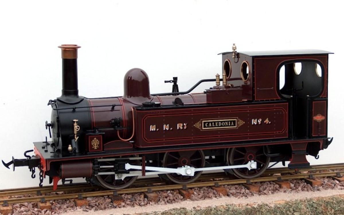 Scale Models of the Isle of Man Railway