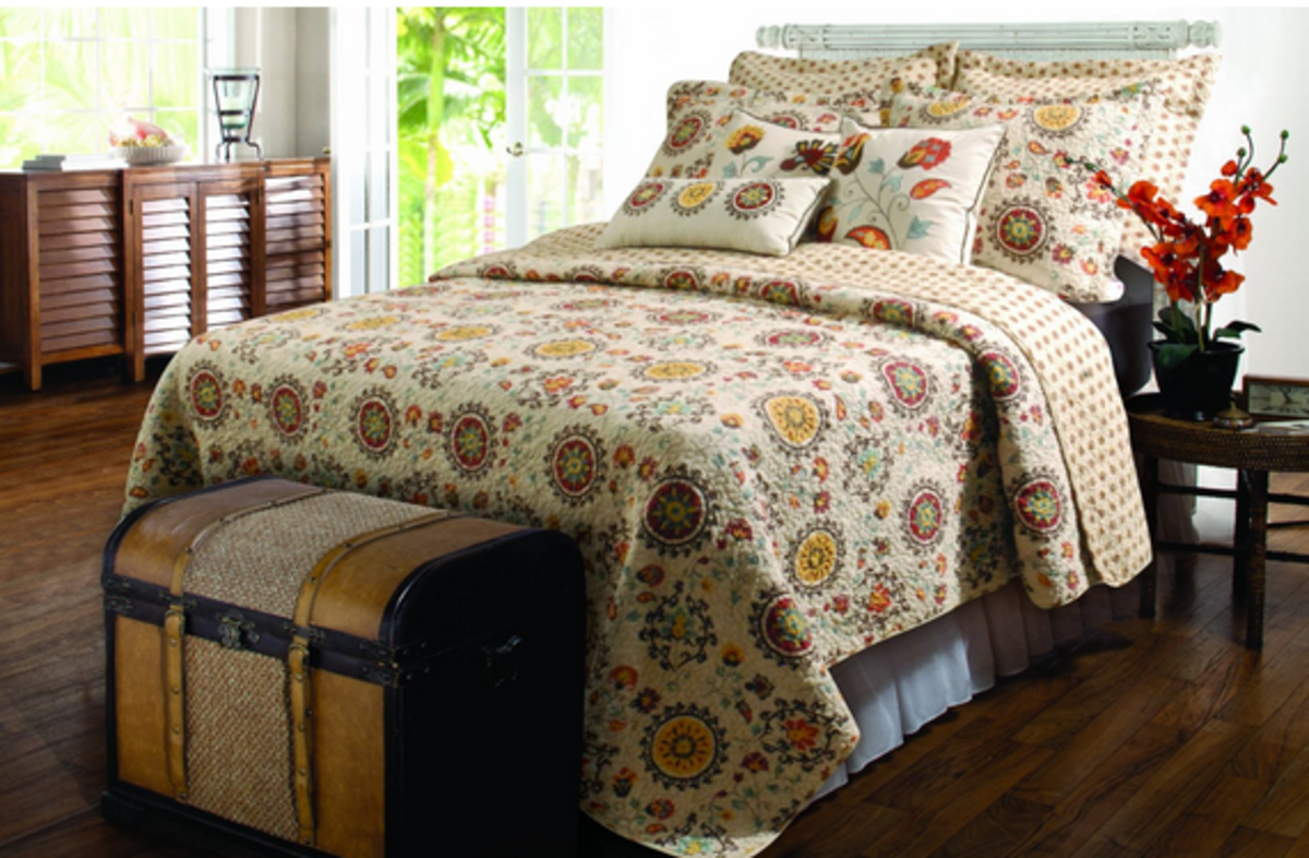 French Country Quilt Bedding