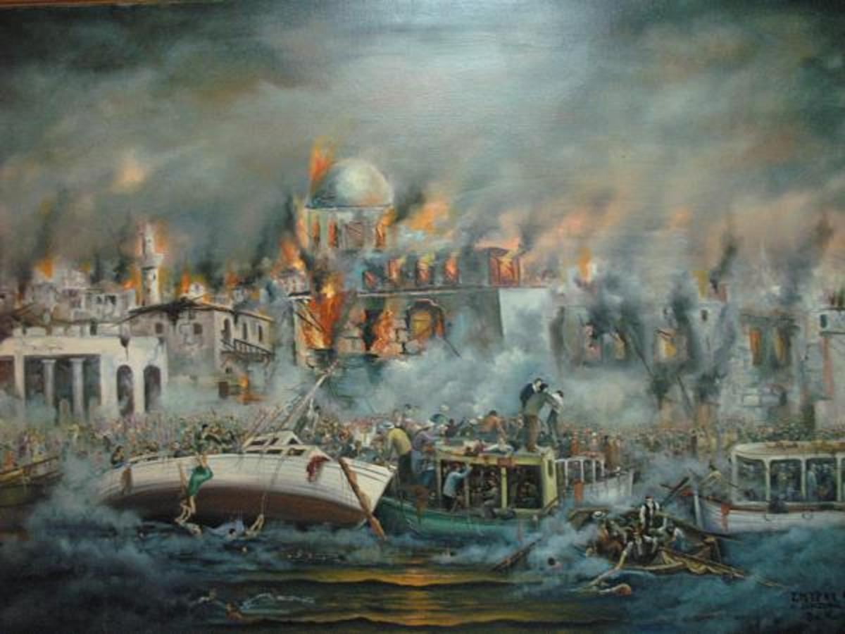 Vasilis Bottas - The Smyrna Catastrophe