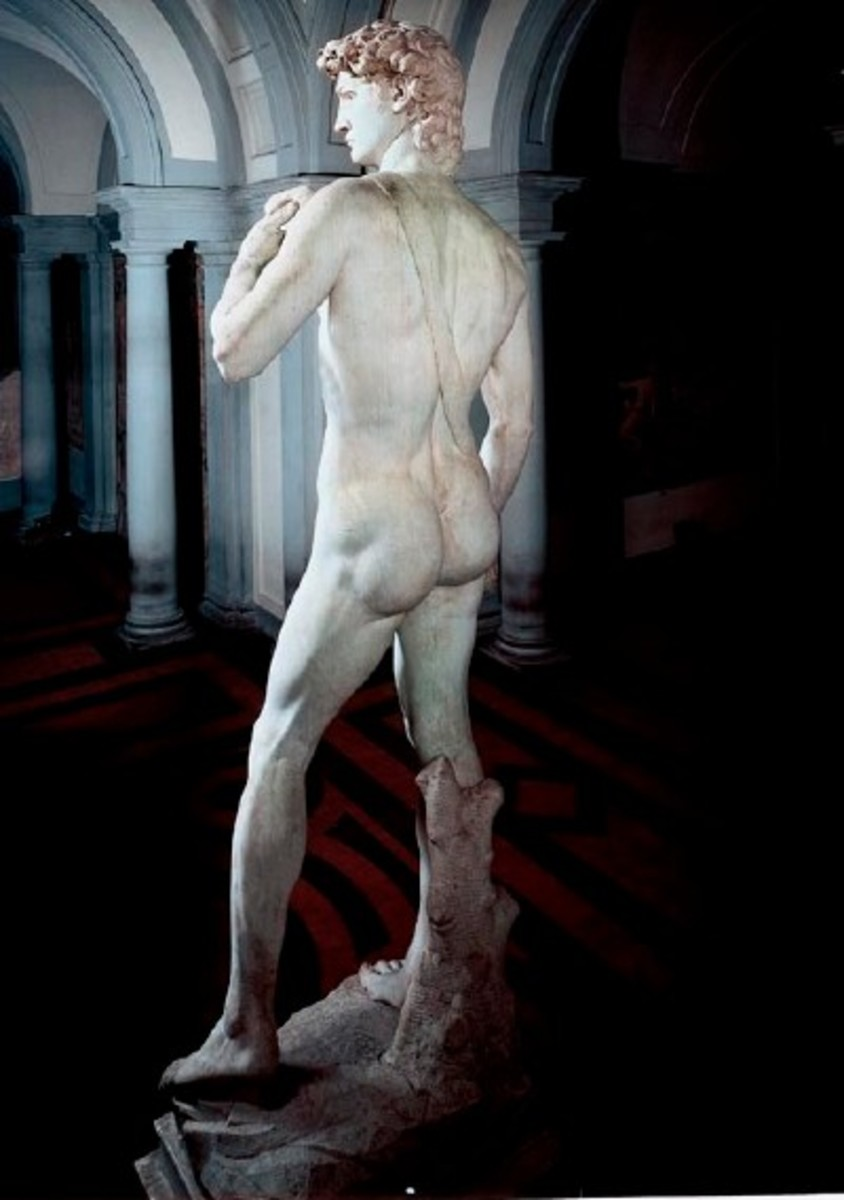 My rival in Gluteii : Michelangelo's David