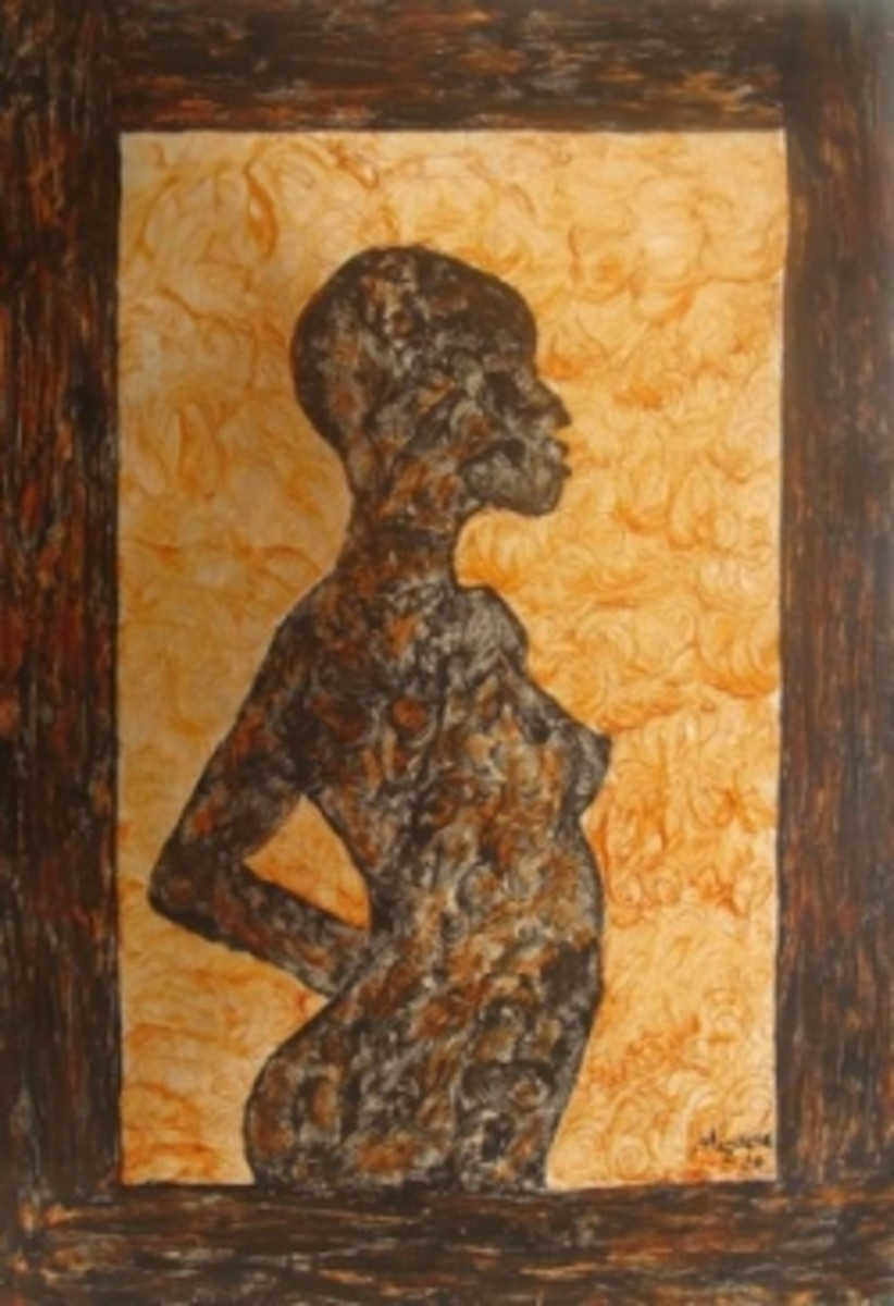 Sunset Dreams African Metal Art by Injete Chesoni
