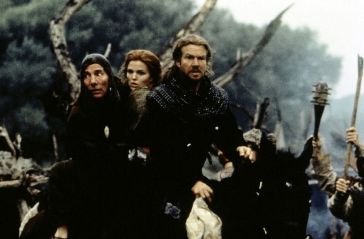 Dragonheart : Pete Postlethwaite, Dina Meyer & Dennis Quaid