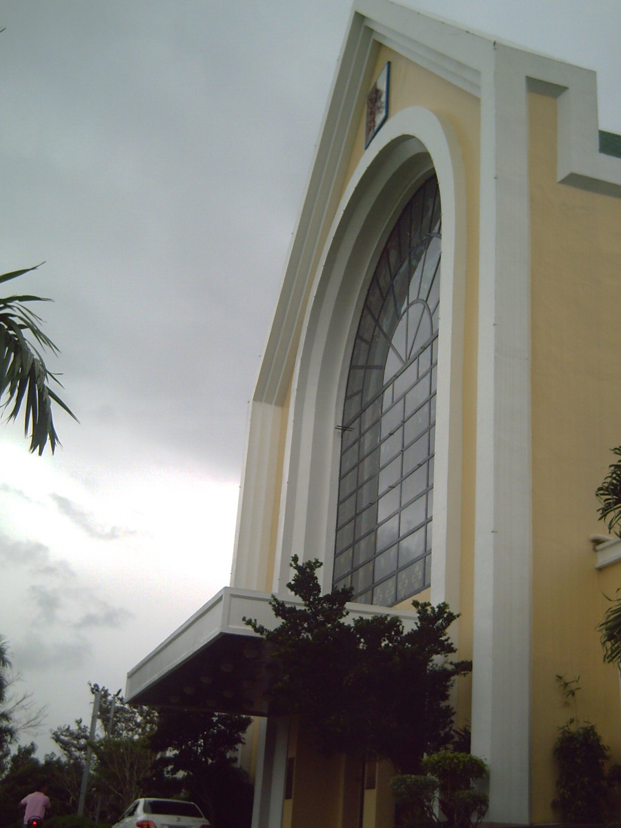 Basilica Minore in Naga City, Philippines- the venue of my relative's wedding
