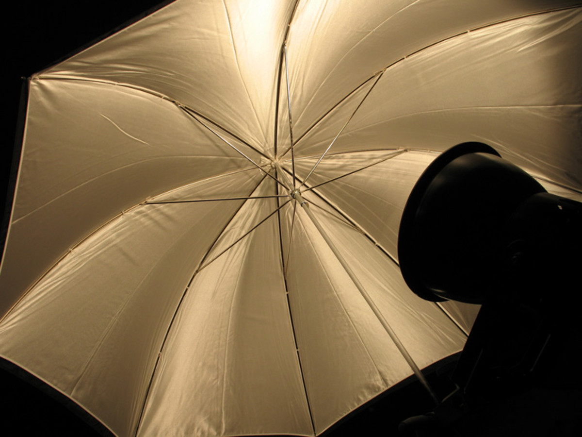 D.I.Y Reflective Photo Umbrella