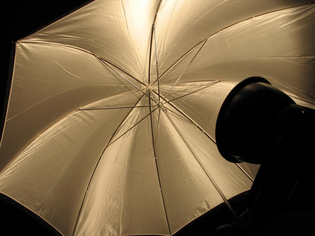 D.I.Y Reflective Photo Umbrella