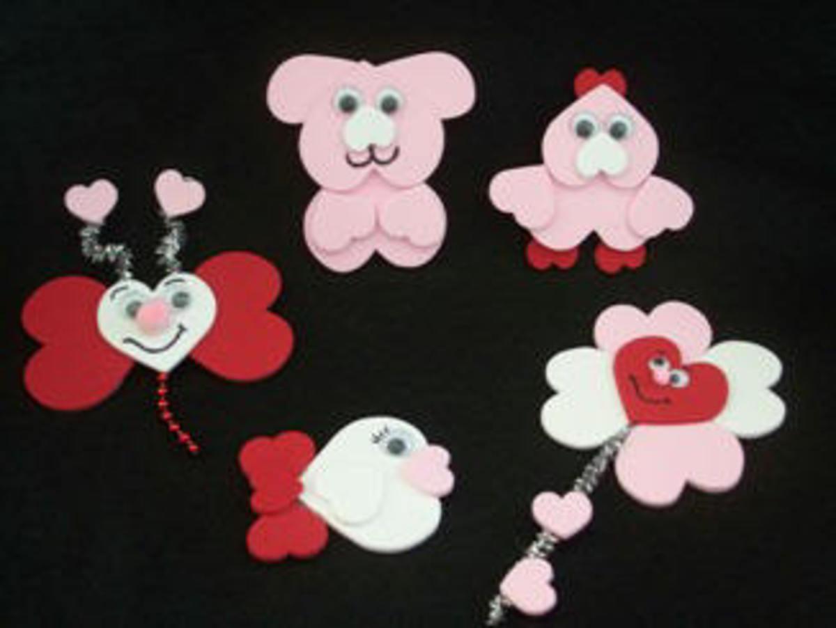 cute foam shape magnets
