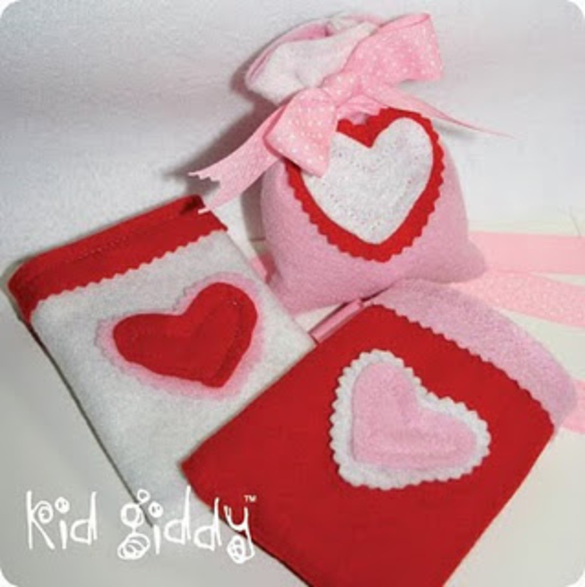 Little Felt Pouches