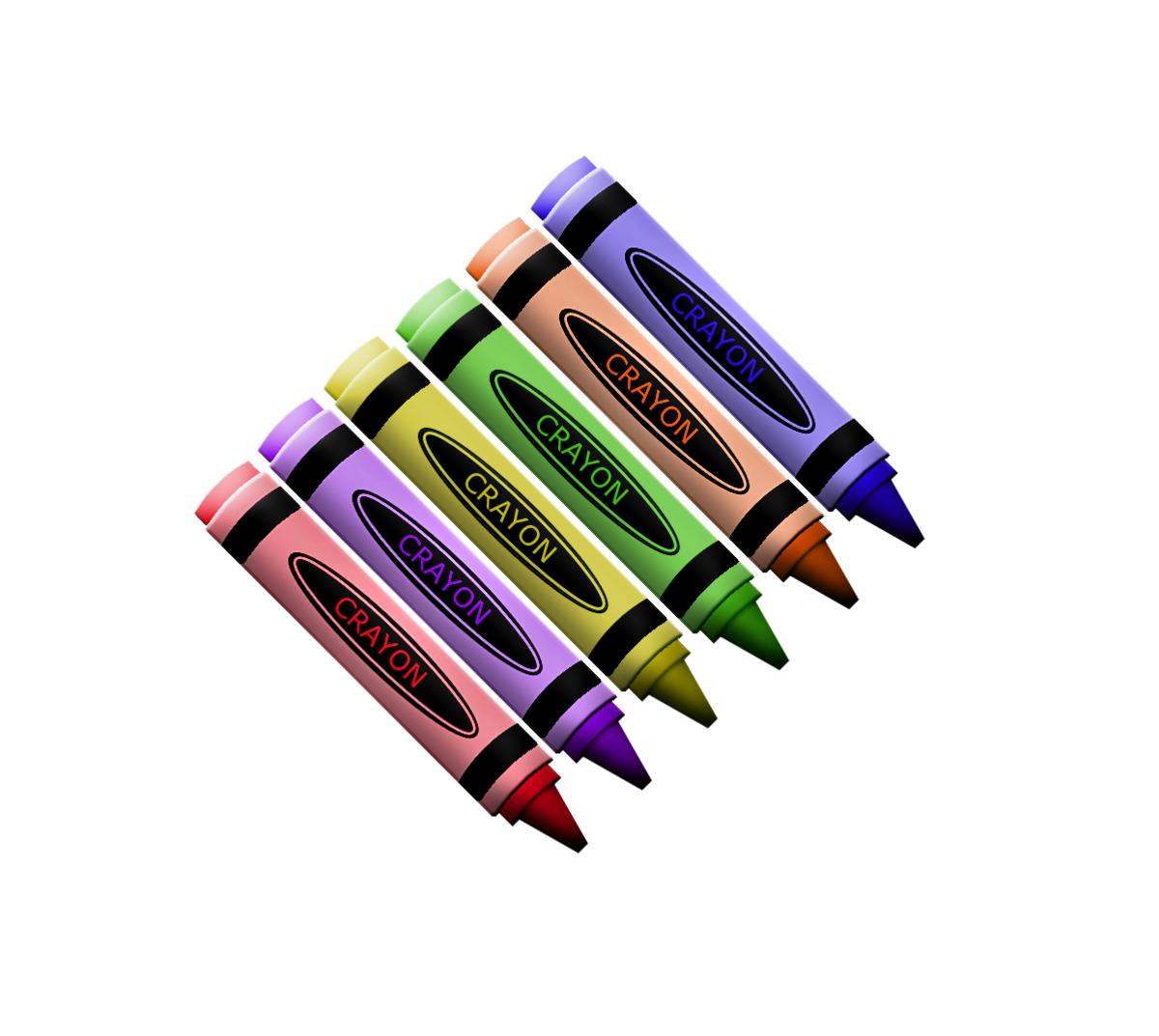 Clip Art Crayons