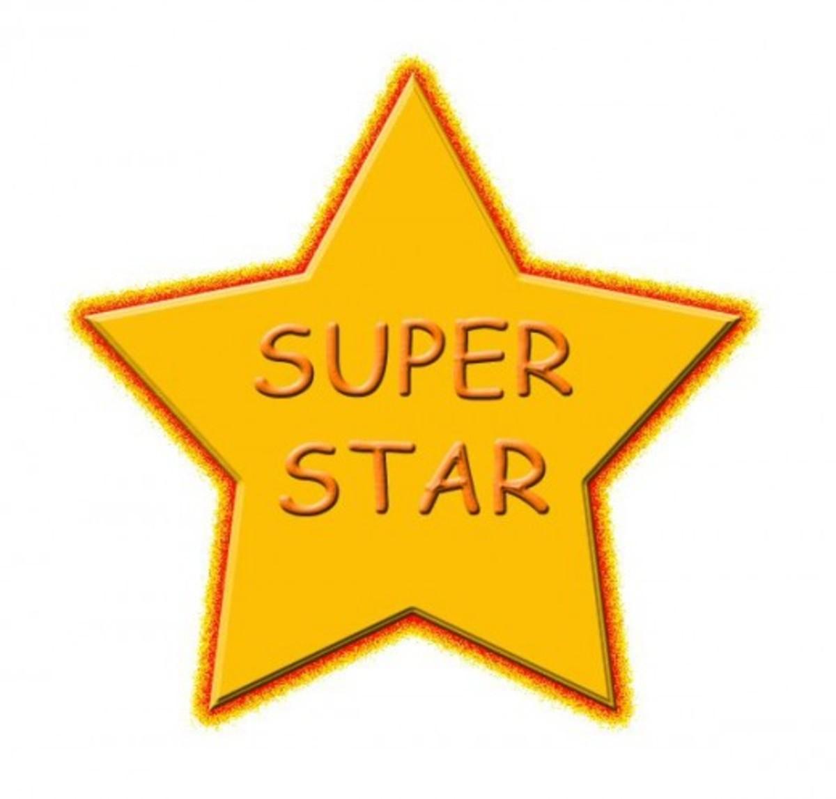 Super Star Clip Art