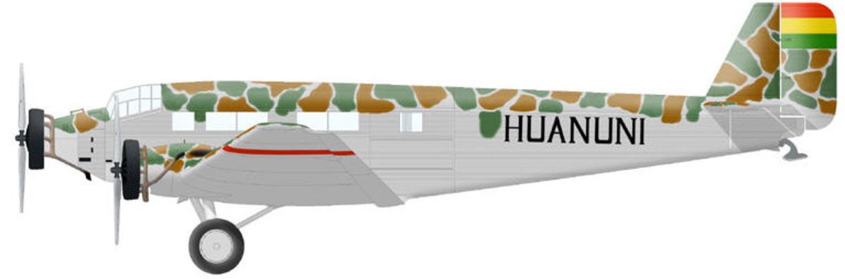 Bolivian Ju52