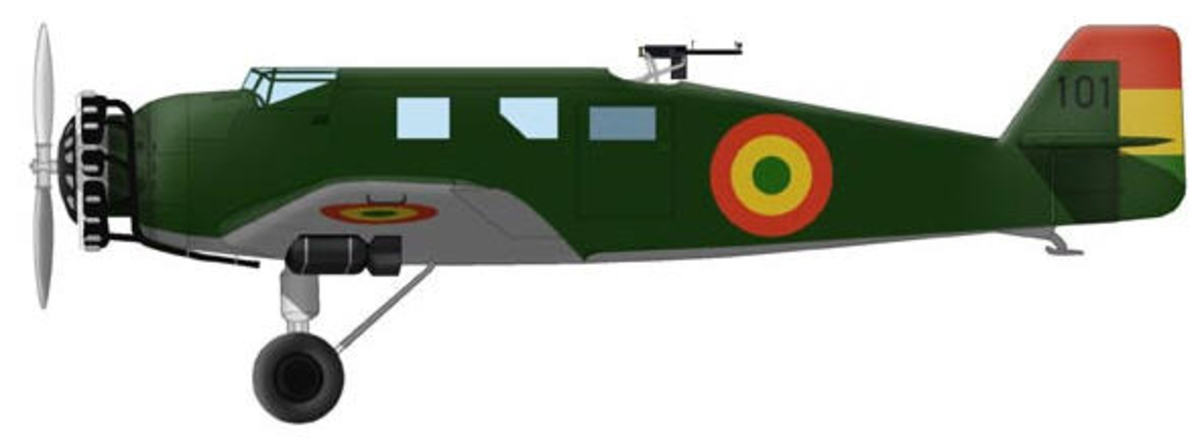 Bolivian bomber