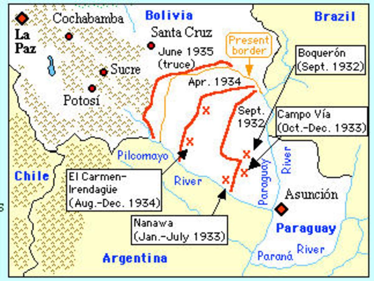 Chaco war battles