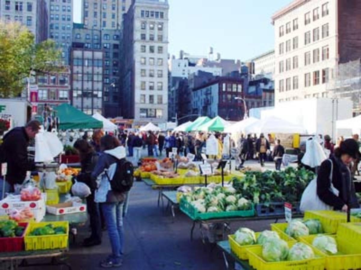 Union Square Farm Market, New York