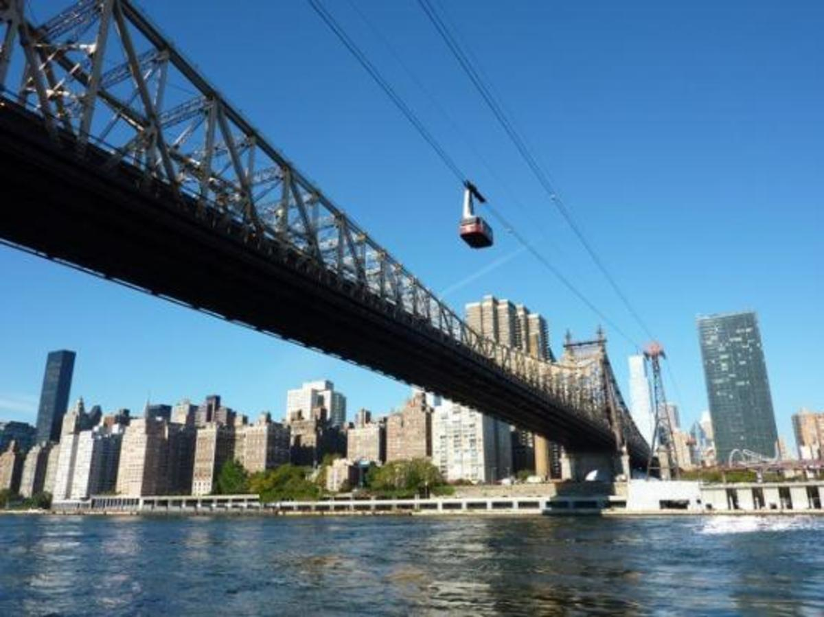 Roosevelt Island Cable Car ride