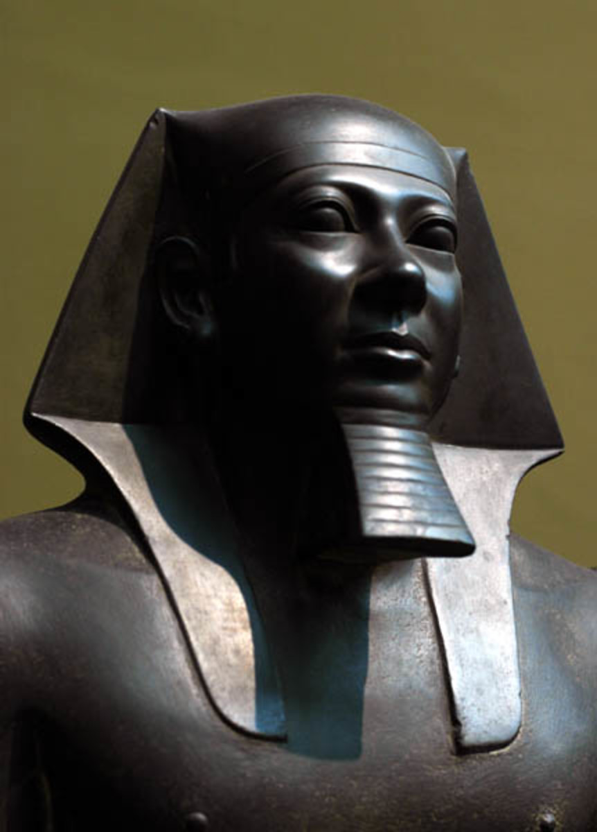 Reign of Menkaure (c.2551-2523 BC, 4th Dynasty) from Giza, Menkaure Valley Temple
