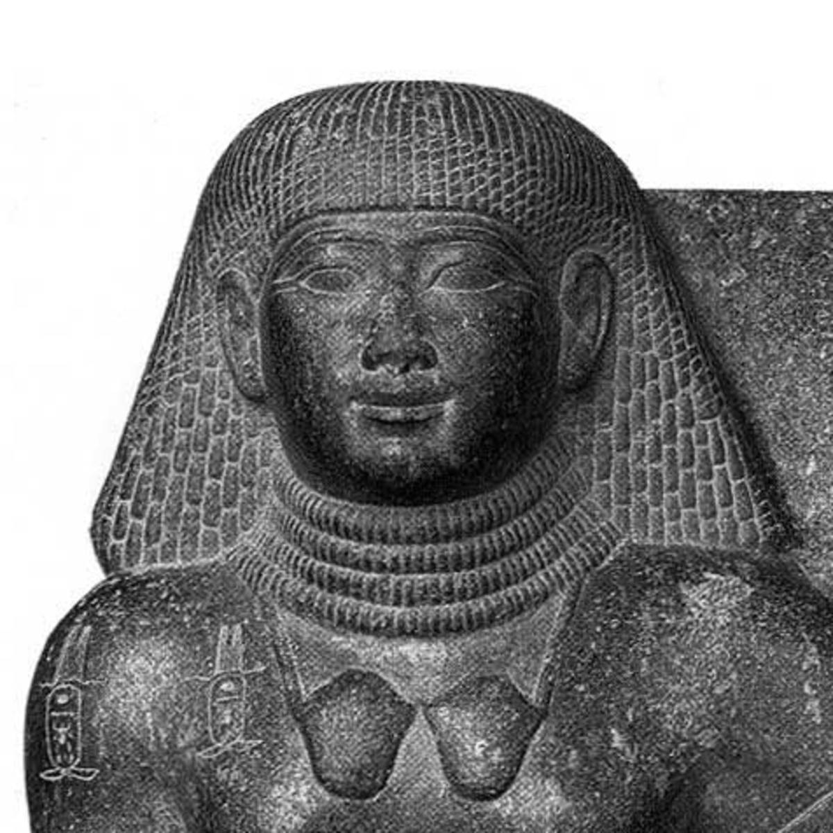 The statue and image of Thutmosis IV