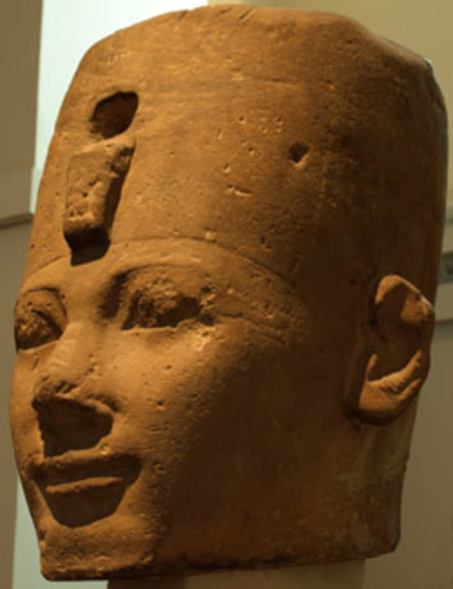 Colossal Head of Thutmosis I from Karnak